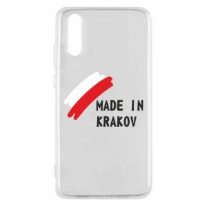 Huawei P20 Case Made in Krakow