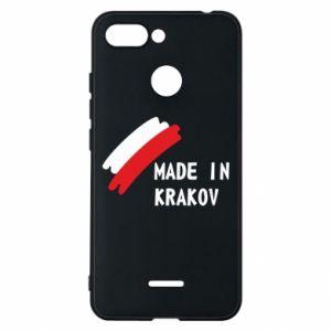 Xiaomi Redmi 6 Case Made in Krakow