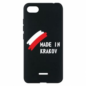 Xiaomi Redmi 6A Case Made in Krakow