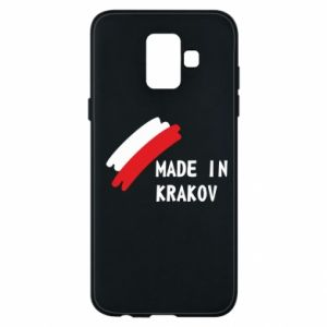Samsung A6 2018 Case Made in Krakow