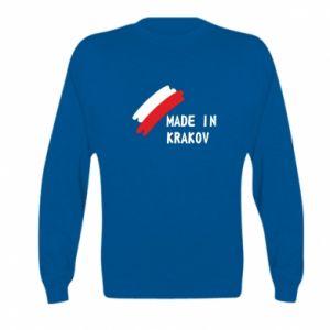Kid's sweatshirt Made in Krakow