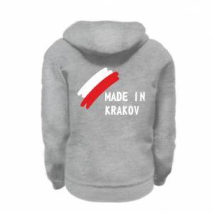 Kid's zipped hoodie % print% Made in Krakow