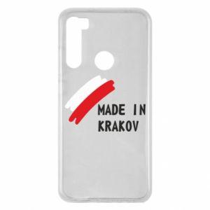 Xiaomi Redmi Note 8 Case Made in Krakow