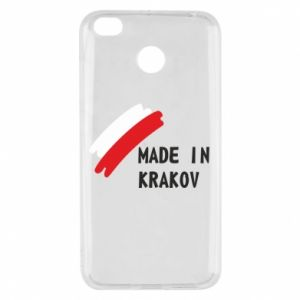 Xiaomi Redmi 4X Case Made in Krakow