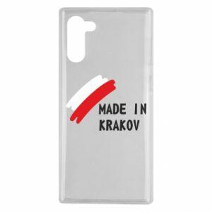 Samsung Note 10 Case Made in Krakow