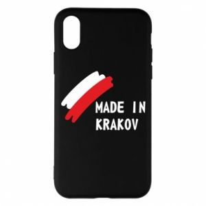 iPhone X/Xs Case Made in Krakow
