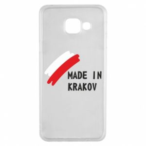 Samsung A3 2016 Case Made in Krakow