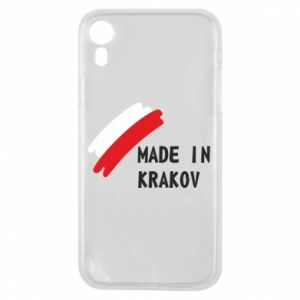 iPhone XR Case Made in Krakow