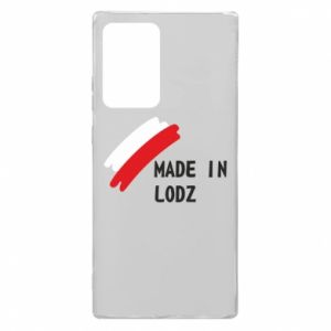 Samsung Note 20 Ultra Case Made in Lodz