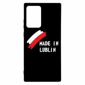 Samsung Note 20 Ultra Case Made in Lublin