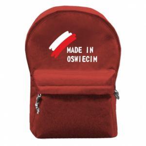 Plecak z przednią kieszenią Made in Oswiecim