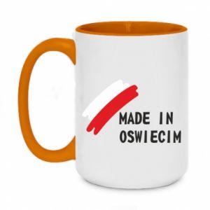 Kubek dwukolorowy 450ml Made in Oswiecim