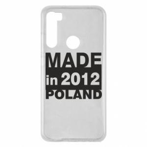 Xiaomi Redmi Note 8 Case Made in Poland