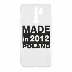 Xiaomi Redmi 9 Case Made in Poland