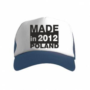 Kid's Trucker Hat Made in Poland
