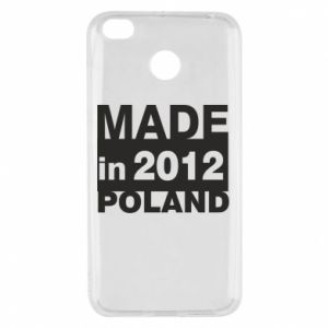 Xiaomi Redmi 4X Case Made in Poland