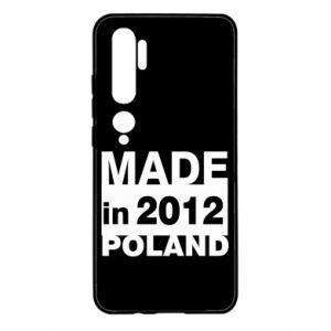 Xiaomi Mi Note 10 Case Made in Poland