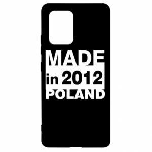 Samsung S10 Lite Case Made in Poland