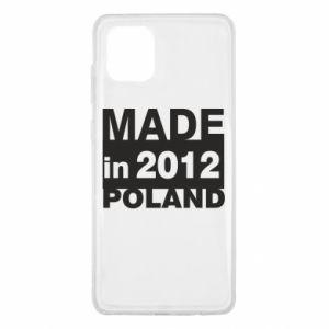 Samsung Note 10 Lite Case Made in Poland