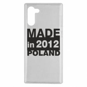 Samsung Note 10 Case Made in Poland