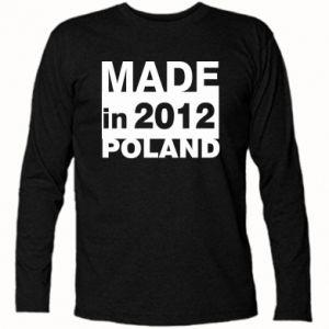 Koszulka z długim rękawem Made in Poland - PrintSalon