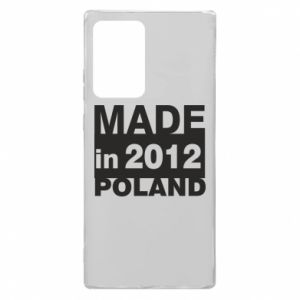 Samsung Note 20 Ultra Case Made in Poland