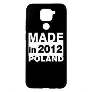 Xiaomi Redmi Note 9 / Redmi 10X case % print% Made in Poland