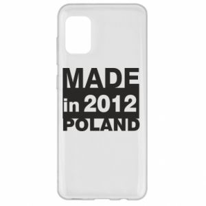 Samsung A31 Case Made in Poland