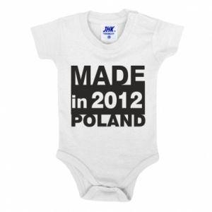 Baby bodysuit Made in Poland