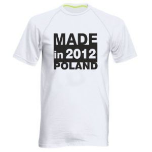 Men's sports t-shirt Made in Poland