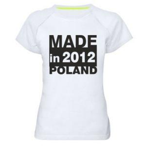 Damska koszulka sportowa Made in Poland - PrintSalon