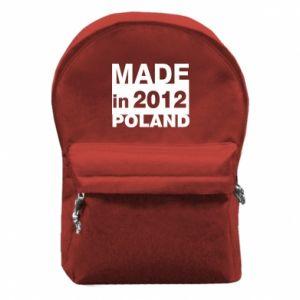 Plecak z przednią kieszenią Made in Poland - PrintSalon