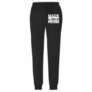 Męskie spodnie lekkie Made in Poland