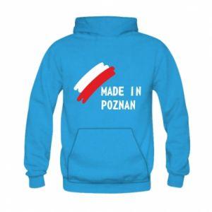 Bluza z kapturem dziecięca Made in Poznan