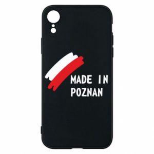 Etui na iPhone XR Made in Poznan