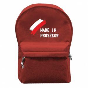 """Plecak z przednią kieszenią """"Made in Pruszkow"""""""