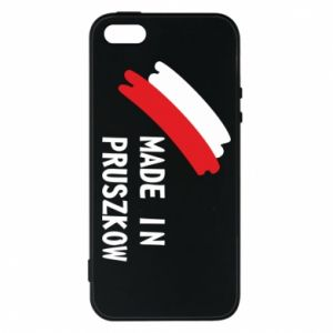 "Phone case for iPhone 5/5S/SE ""Made in Pruszkow"""