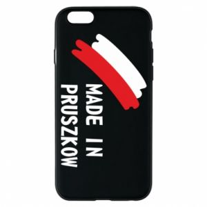 "Phone case for iPhone 6/6S ""Made in Pruszkow"""