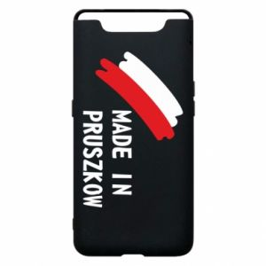 "Phone case for Samsung A80 ""Made in Pruszkow"""
