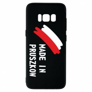 "Phone case for Samsung S8 ""Made in Pruszkow"""