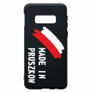 "Phone case for Samsung S10e ""Made in Pruszkow"""