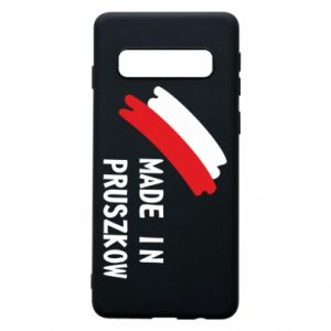 "Phone case for Samsung S10 ""Made in Pruszkow"""