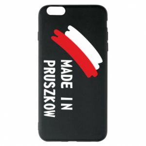 "Phone case for iPhone 6 Plus/6S Plus ""Made in Pruszkow"""