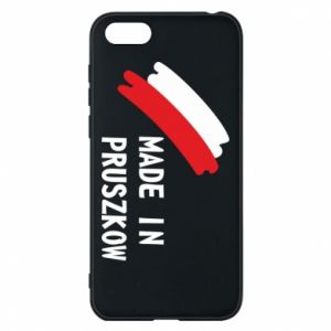 "Phone case for Huawei Y5 2018 ""Made in Pruszkow"""