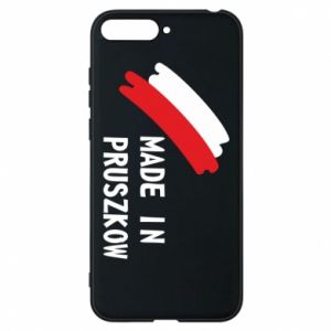 "Phone case for Huawei Y6 2018 ""Made in Pruszkow"""