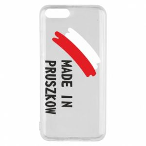 "Phone case for Xiaomi Mi6 ""Made in Pruszkow"""