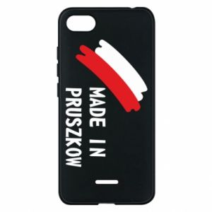 "Phone case for Xiaomi Redmi 6A ""Made in Pruszkow"""