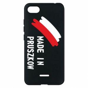 """Etui na Xiaomi Redmi 6A """"Made in Pruszkow"""""""