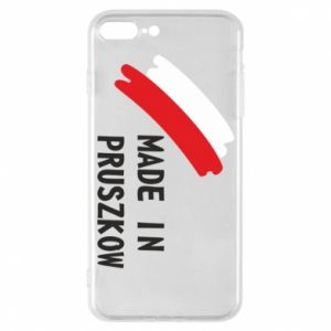"Phone case for iPhone 7 Plus ""Made in Pruszkow"""