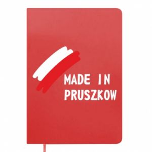 "Notepad ""Made in Pruszkow"""